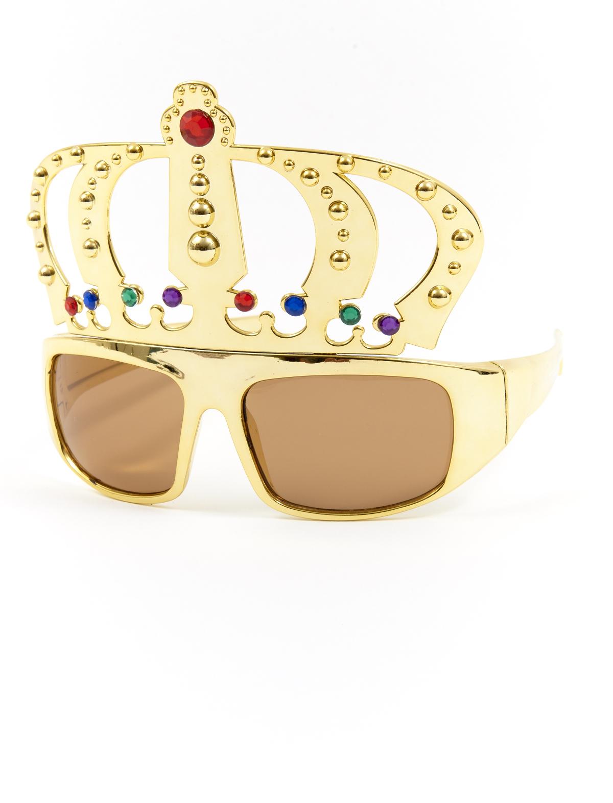 Brille Krone gold