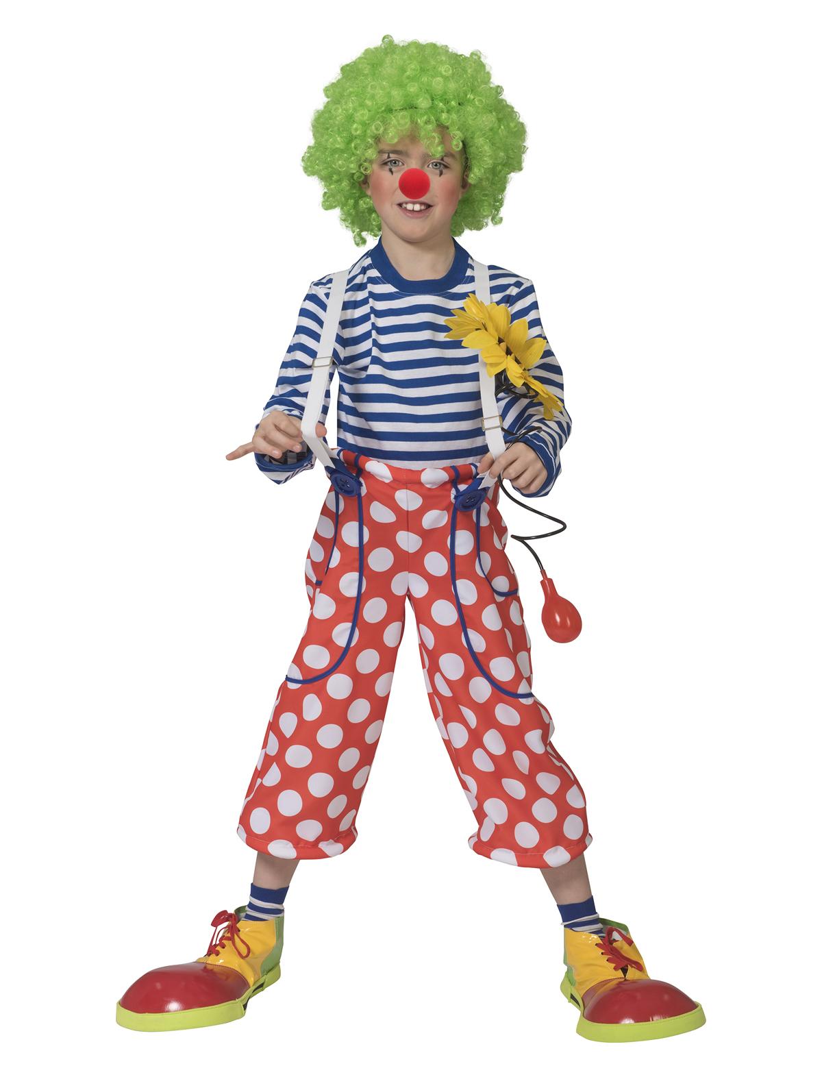 Clownhose gepunktet Kind