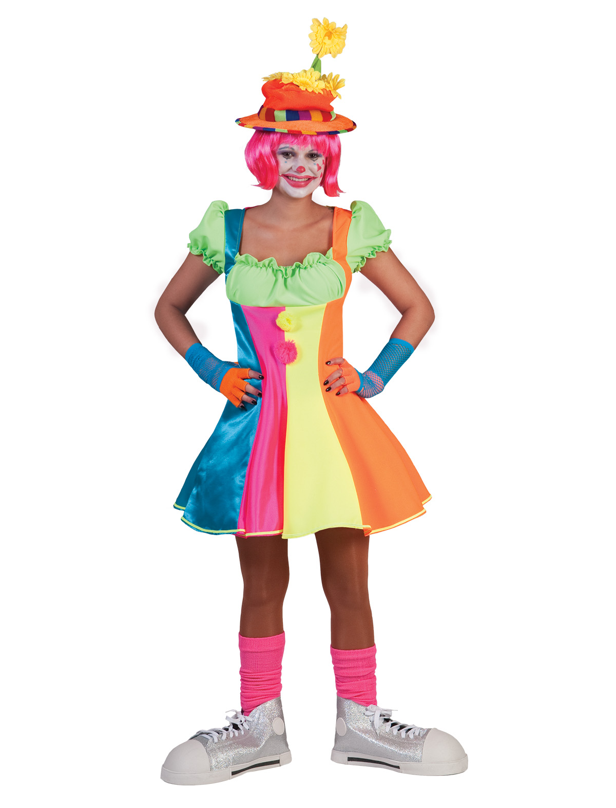 Sexy Clown Dame Happy