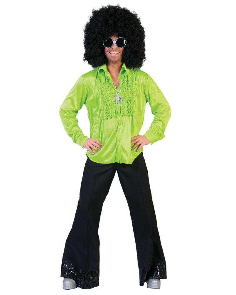 Rüschenhemd Lennon grün