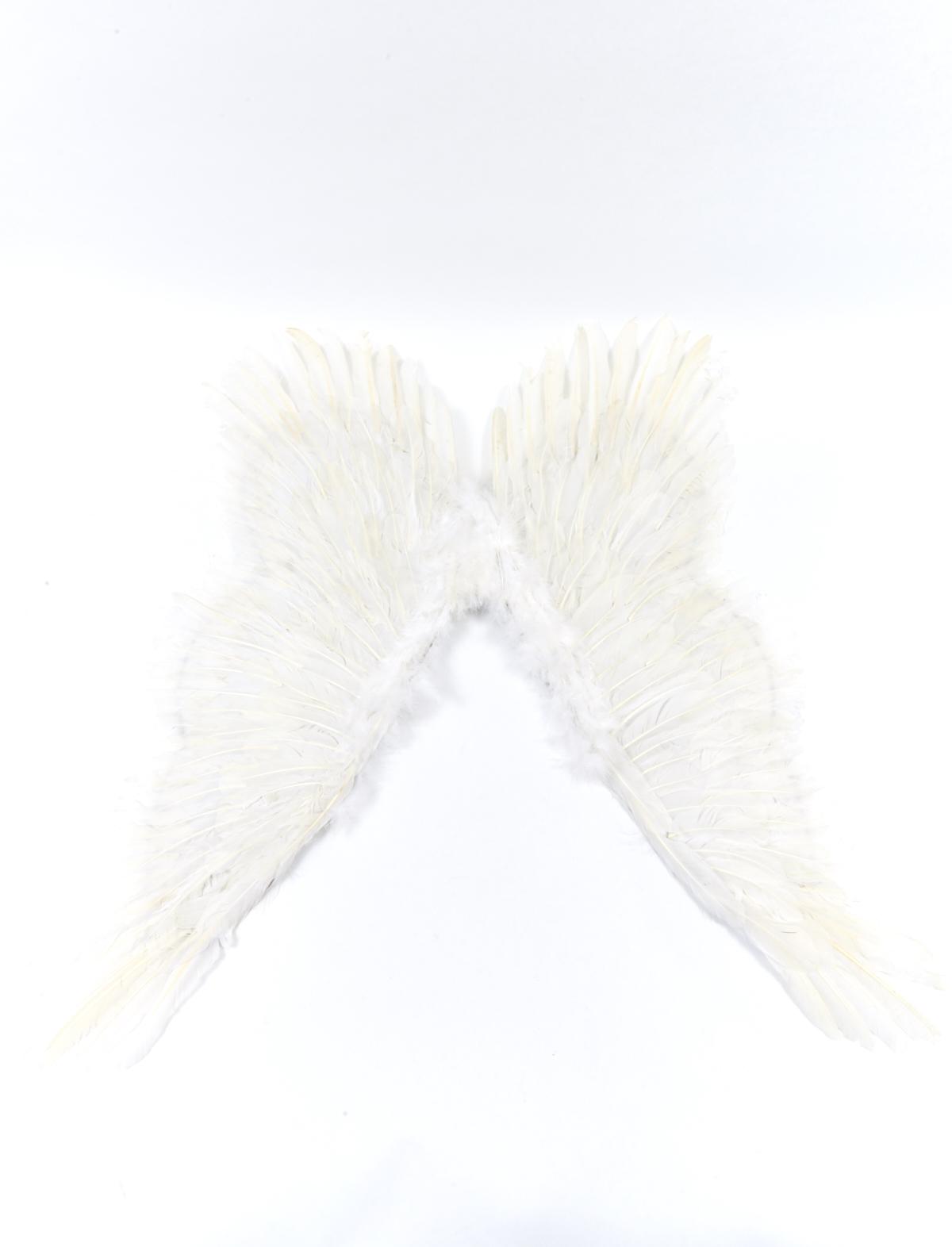 Federflügel weiß ca. 90 x 80 cm