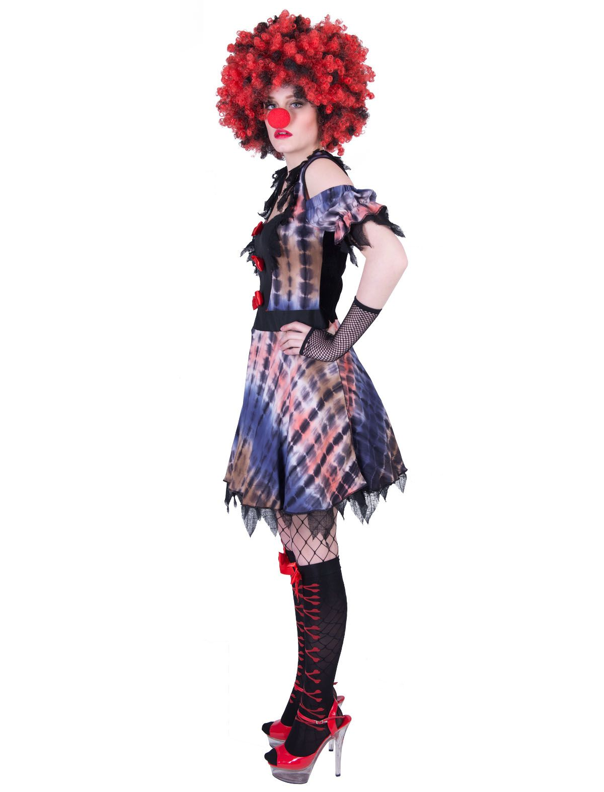 Creepy Clown Luna Damen