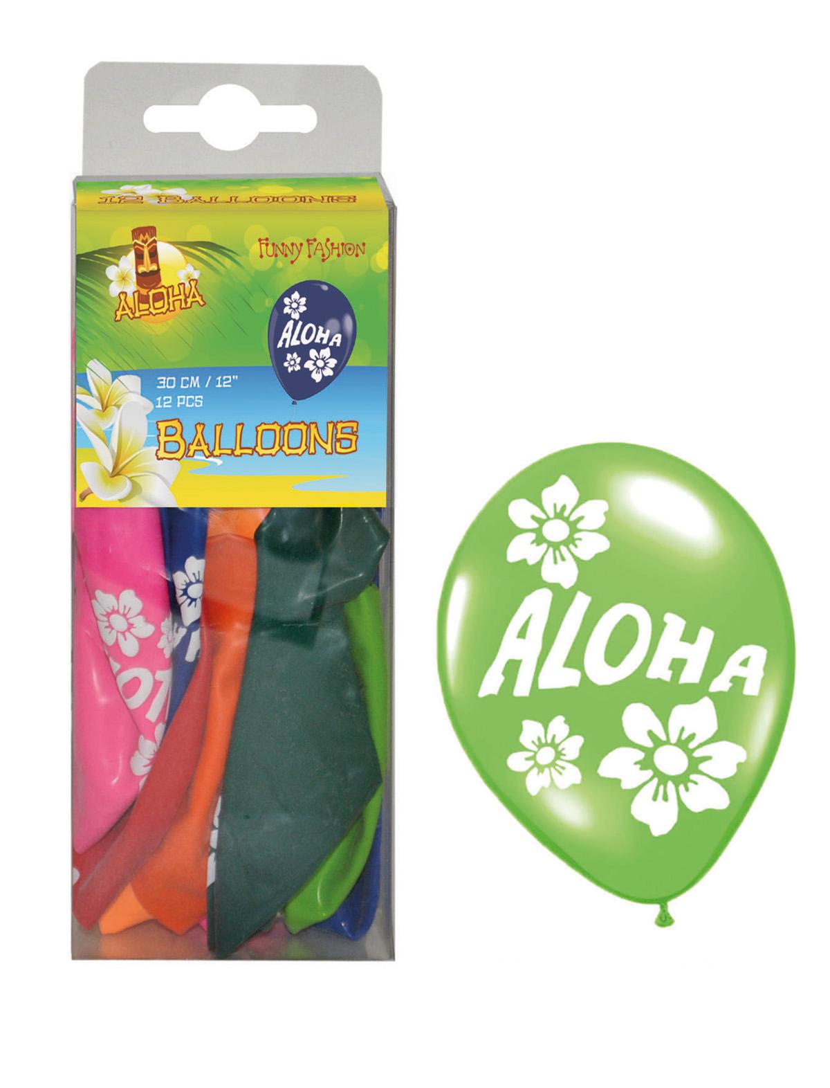 Luftballons Hawaii 12er