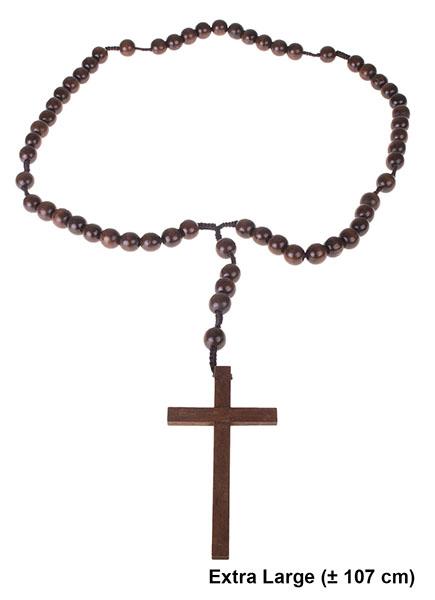 Rosenkranz mit Kreuz groß