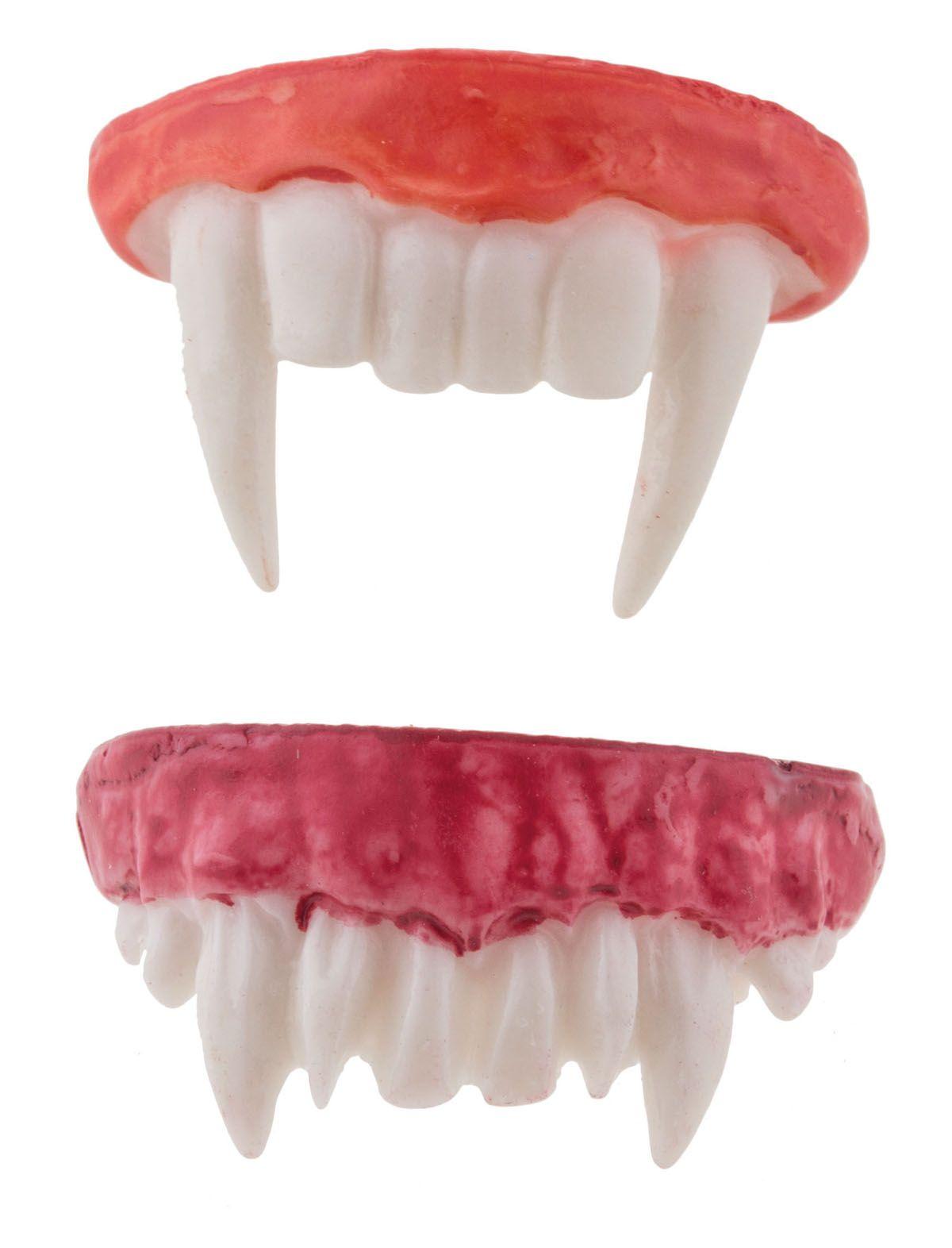 Horror Zähne Vampir Zähne kurz