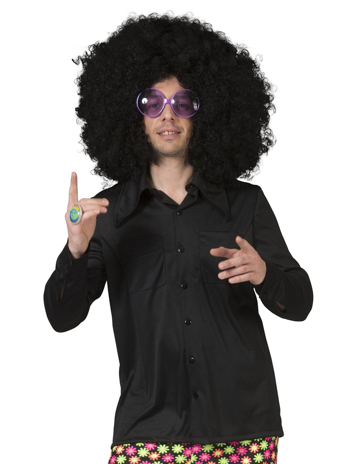 Disco Shirt schwarz