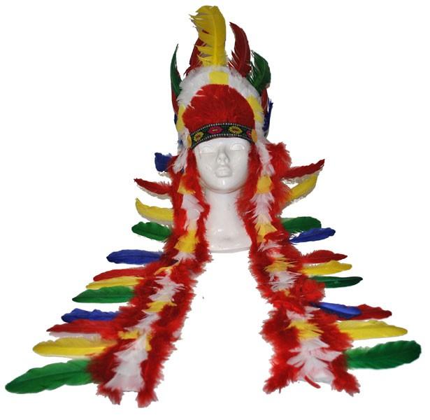 Indianer Kopfschmuck Tipai