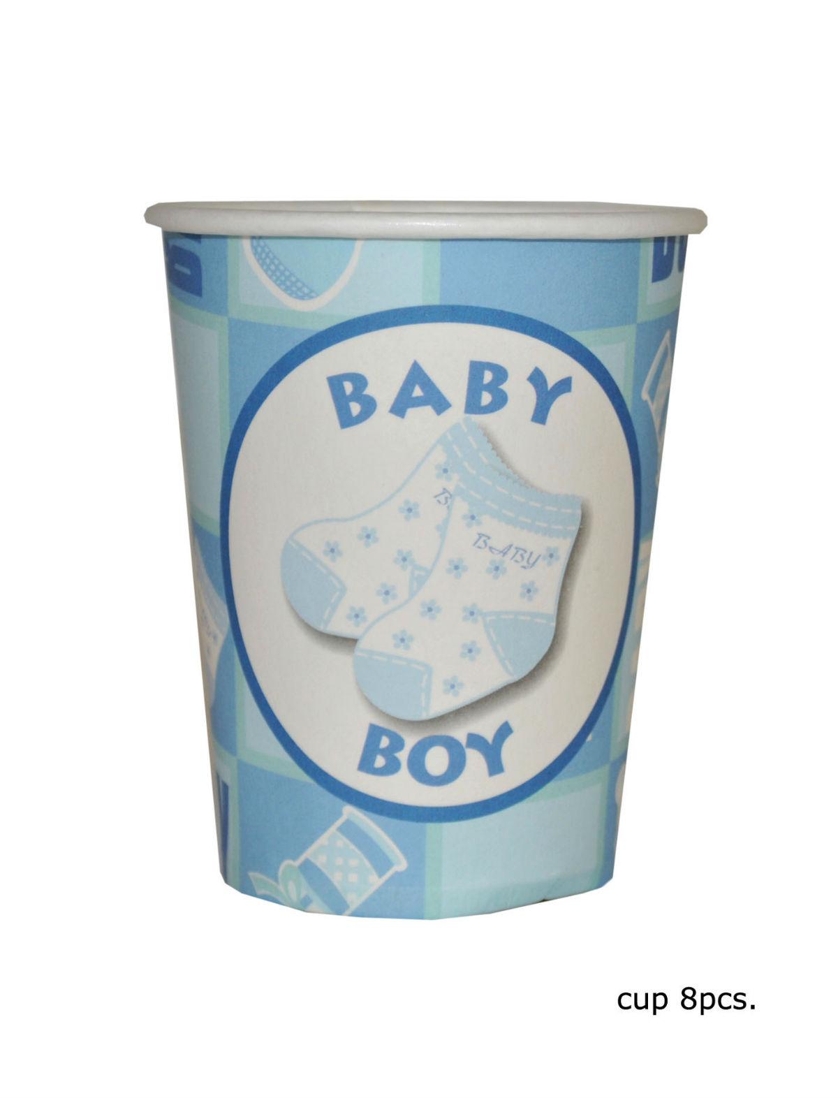 Becher Baby Boy 8er