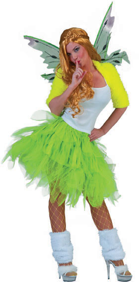 Petticoat Elfe Angie grün