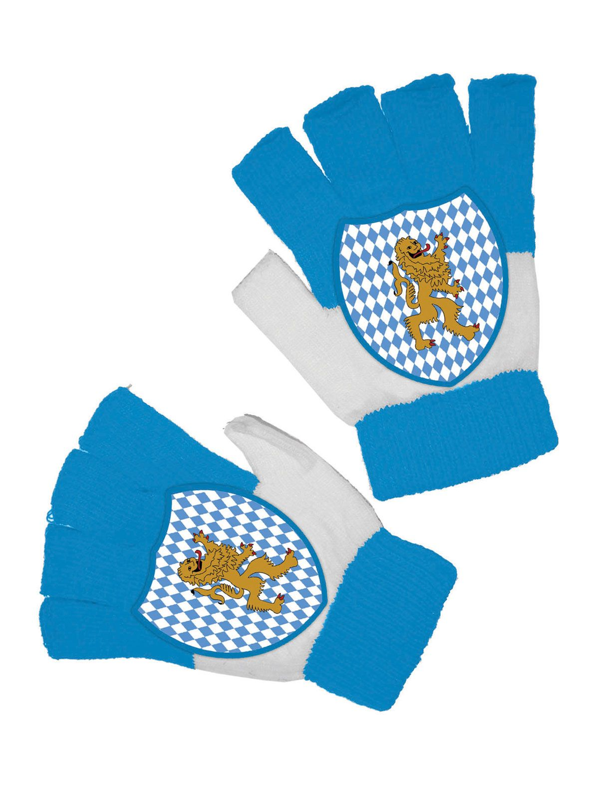 Oktoberfest Handschuhe fingerlos
