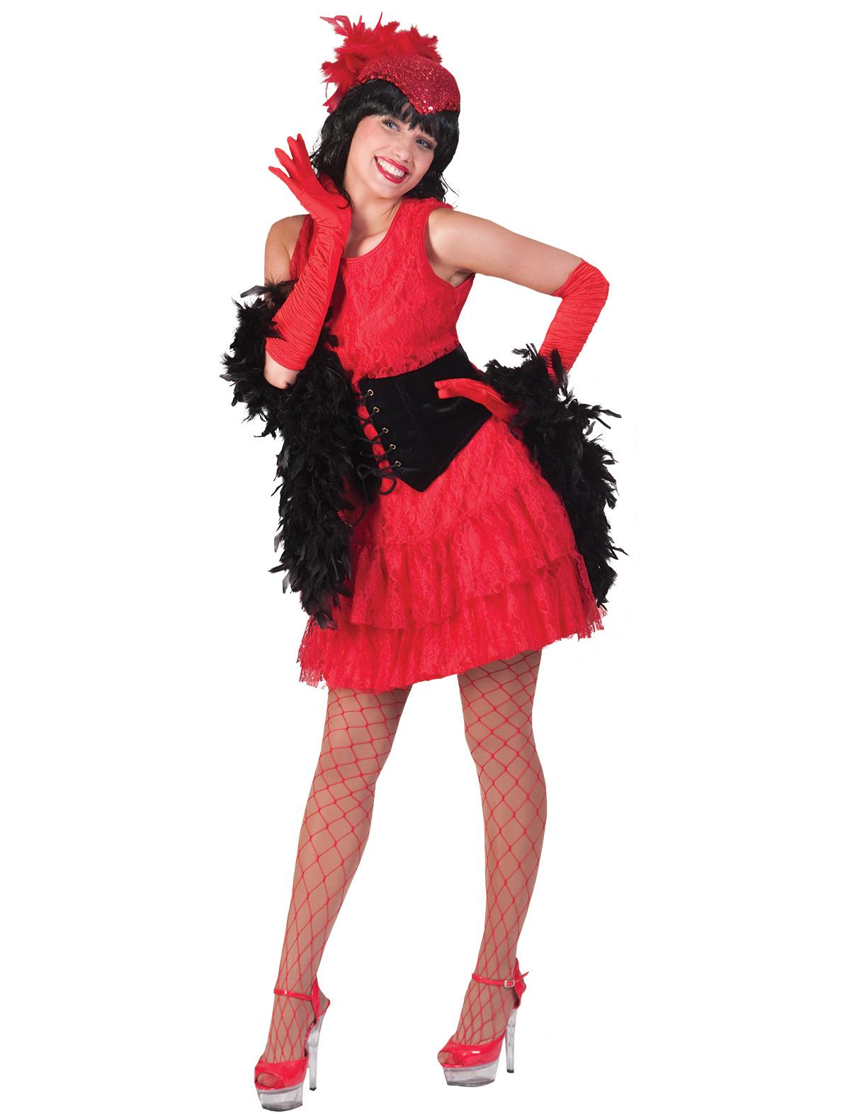Kleid Julietta rot