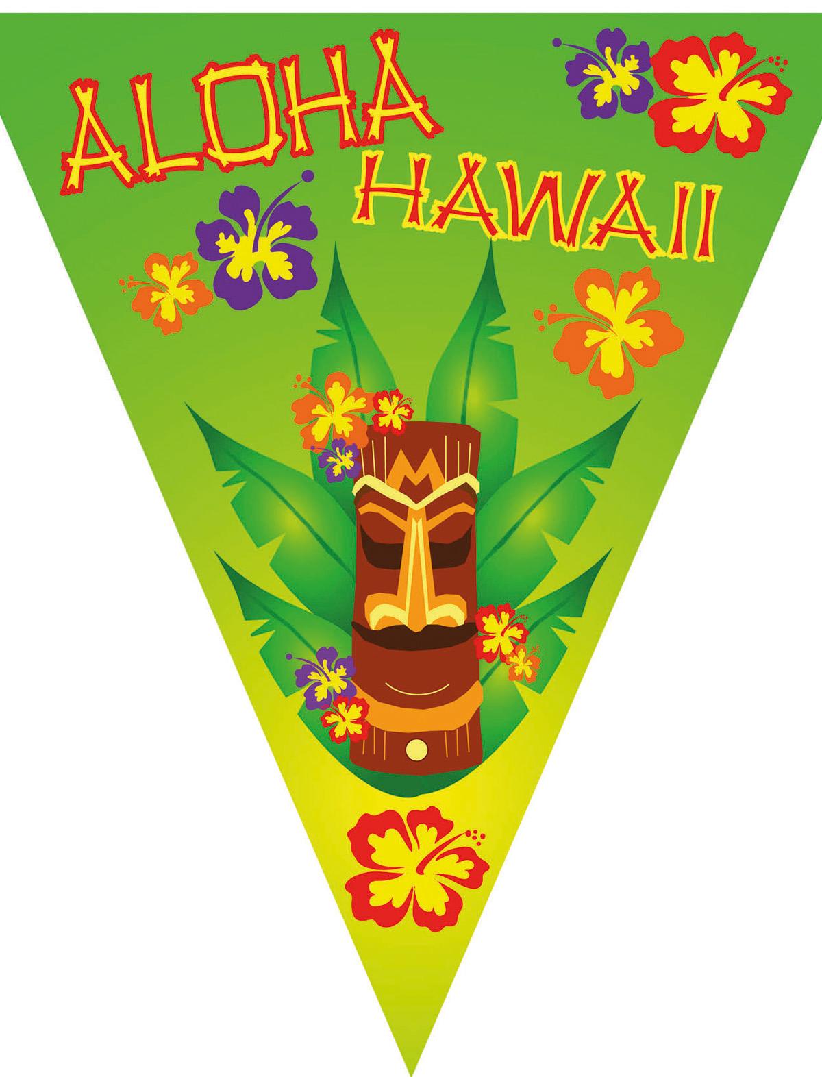 Wimpelkette Aloha Hawaii