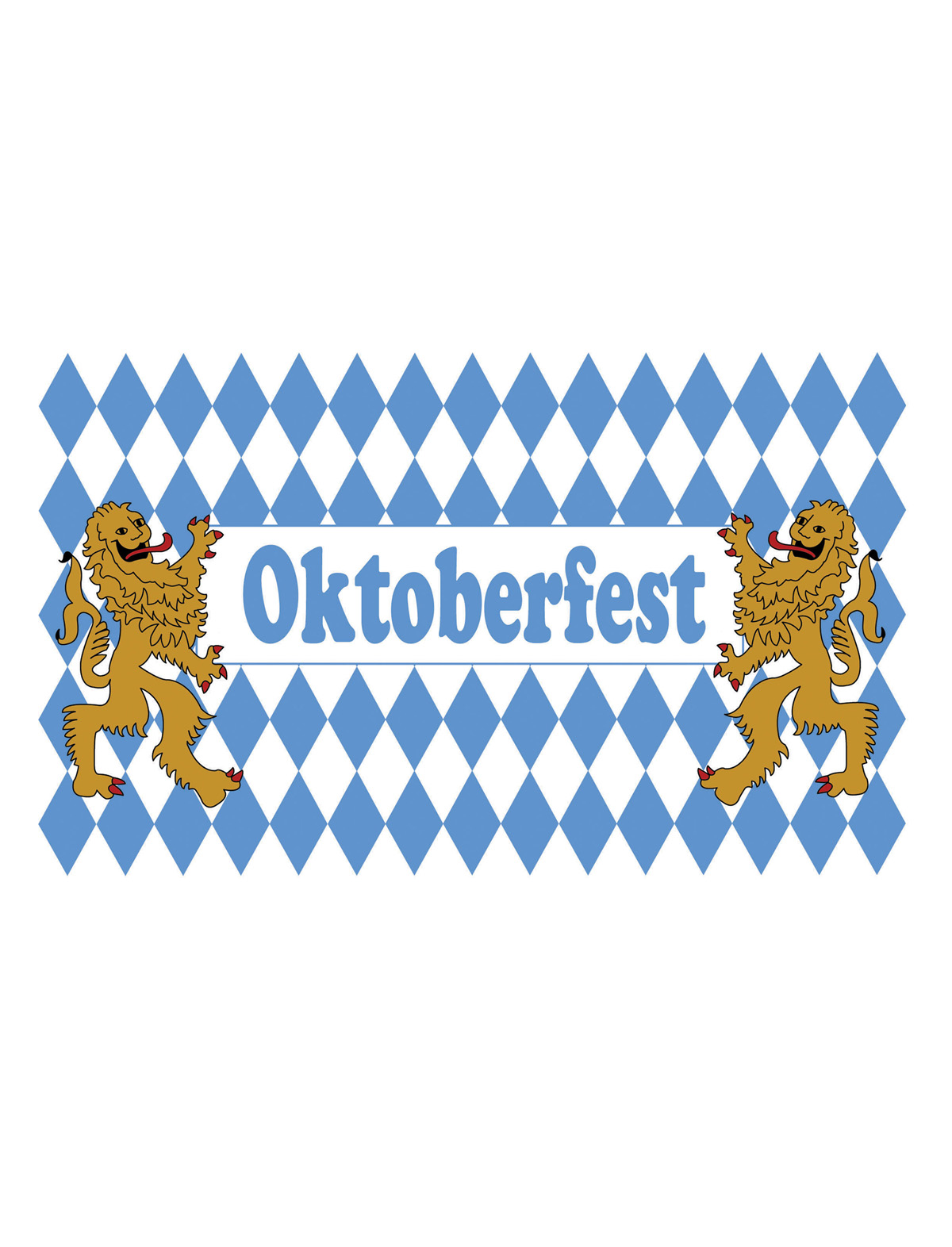 Fahne Oktoberfest