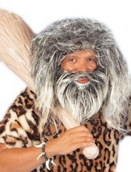 Perücke Neanderthaler