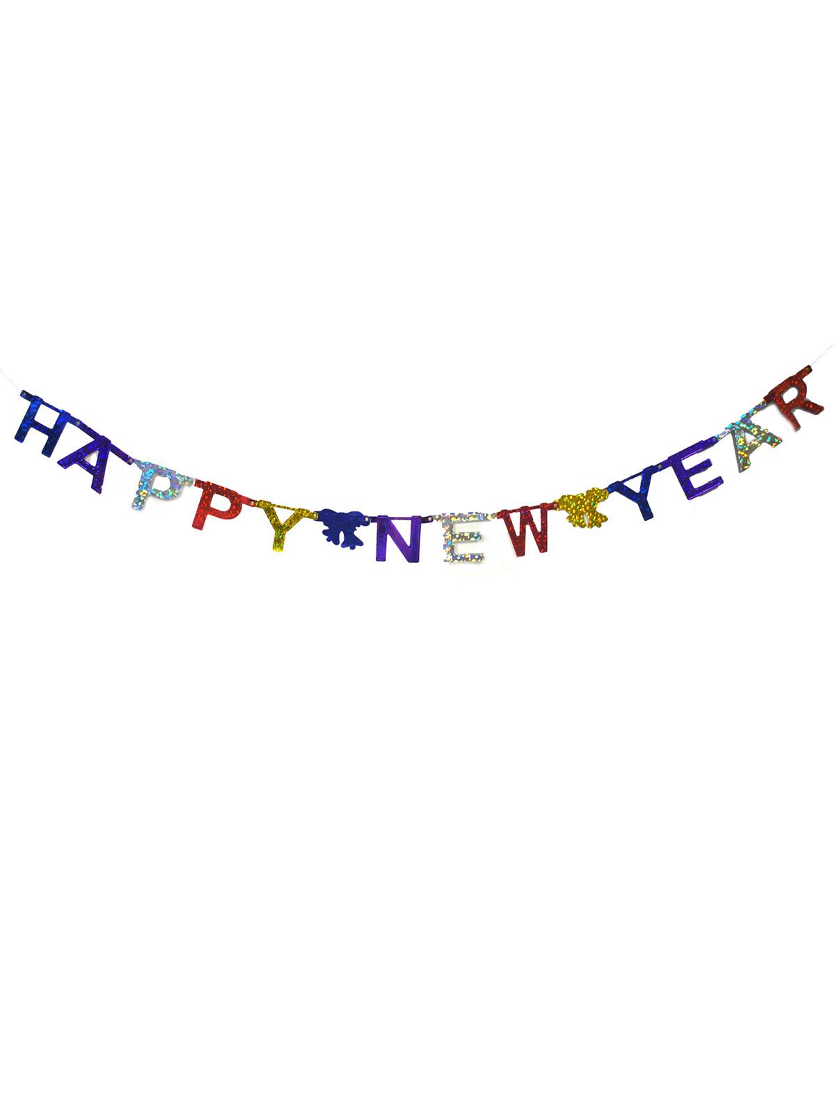 Girlande Happy New Year