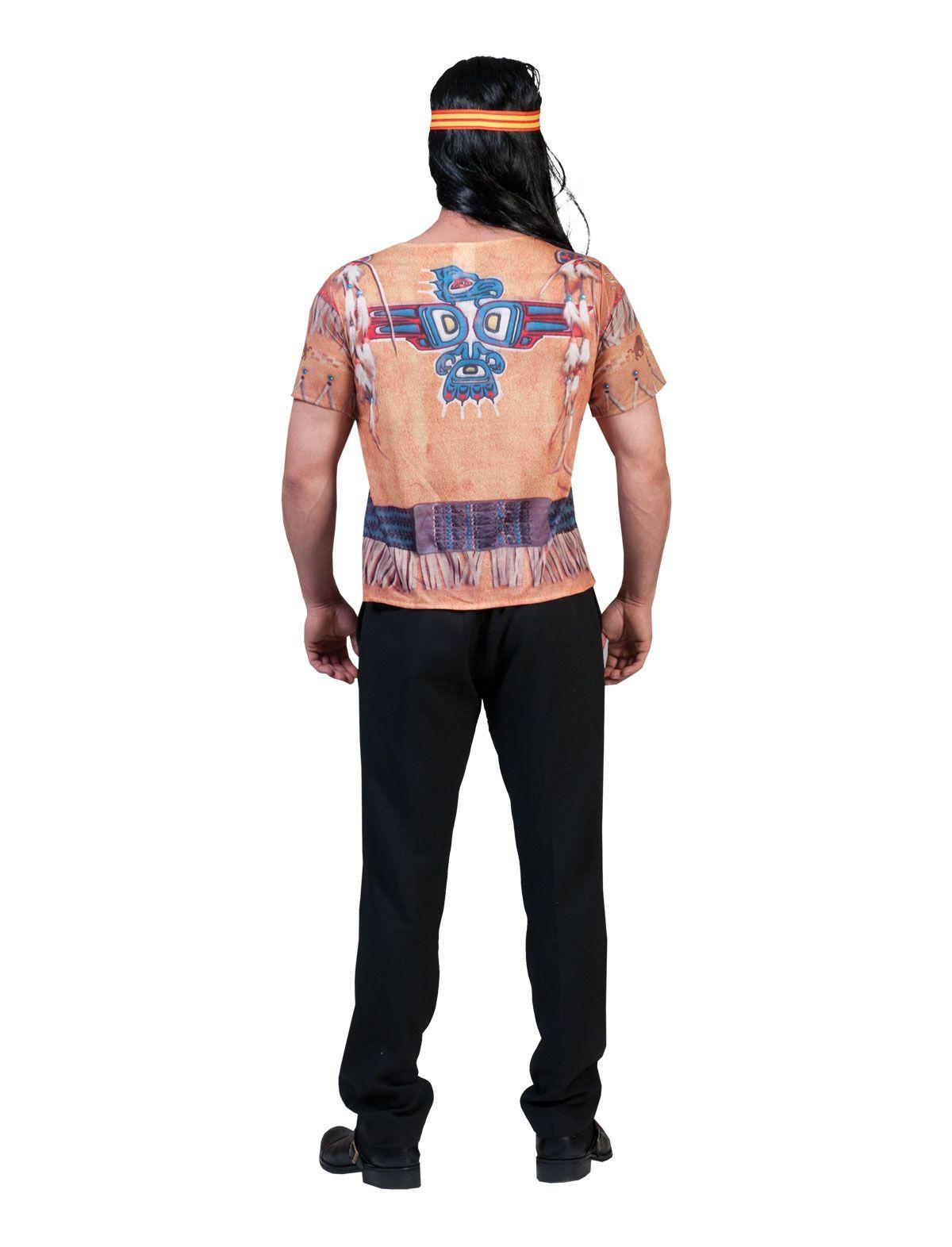 3D-Shirt Indianer