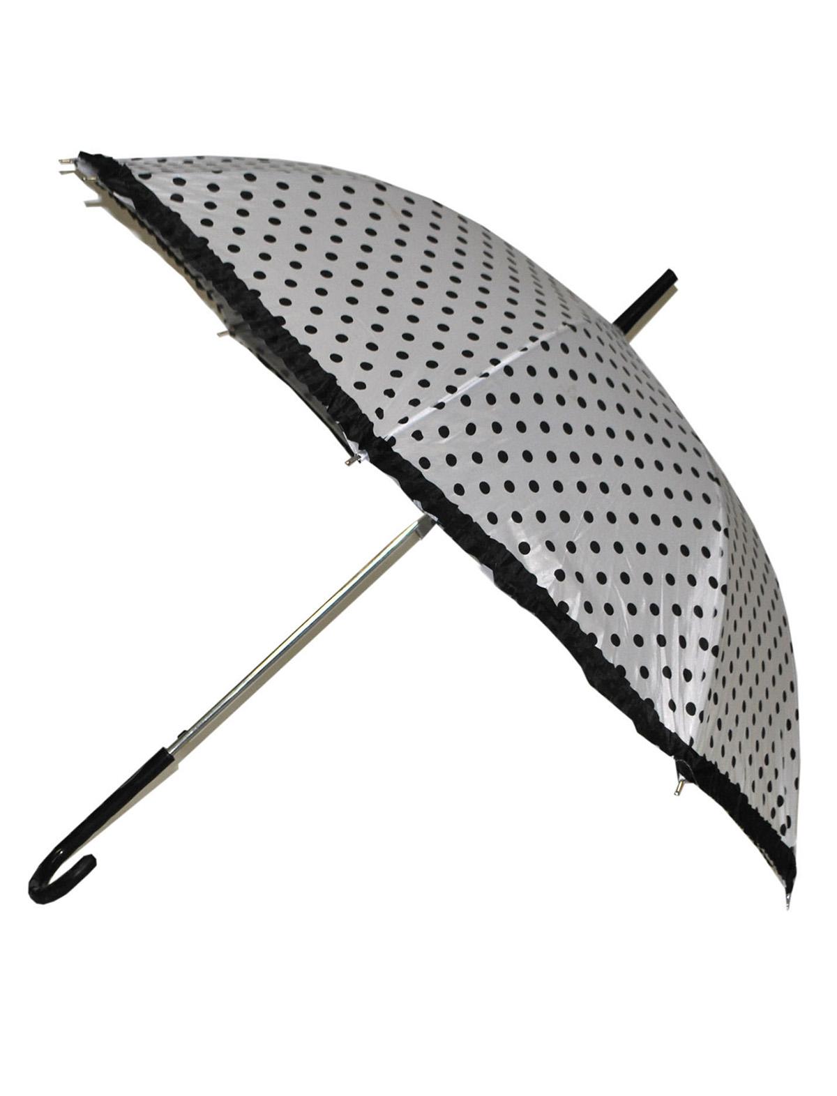 Schirm Patsy weiß-schwarz