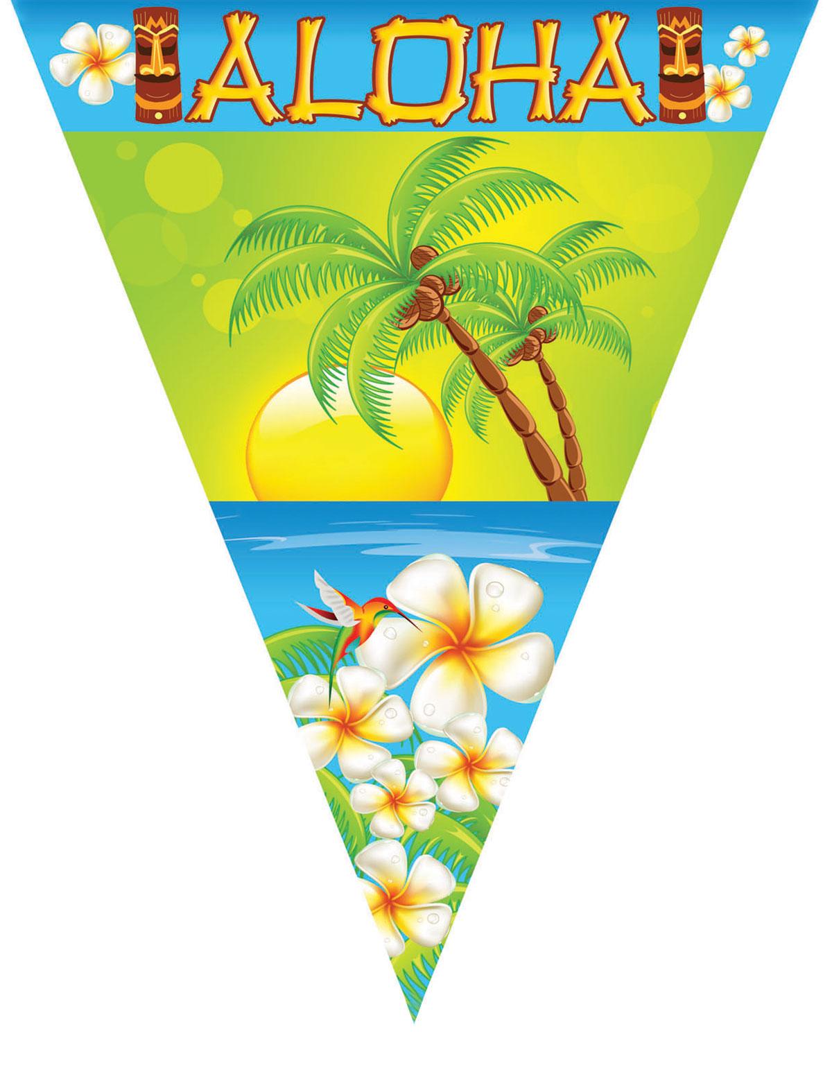 Wimpelkette Aloha