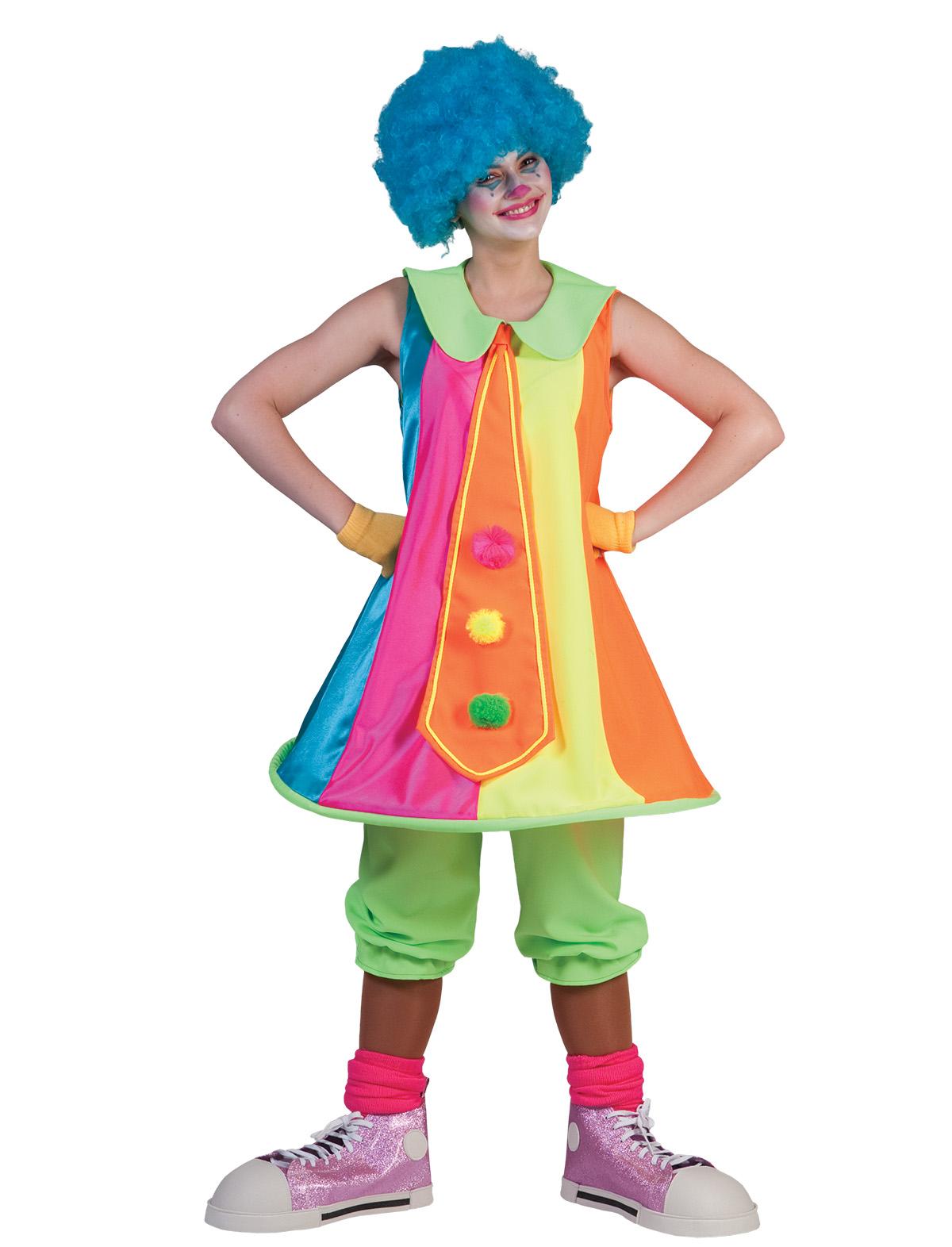 Clown Dame Happy Volume