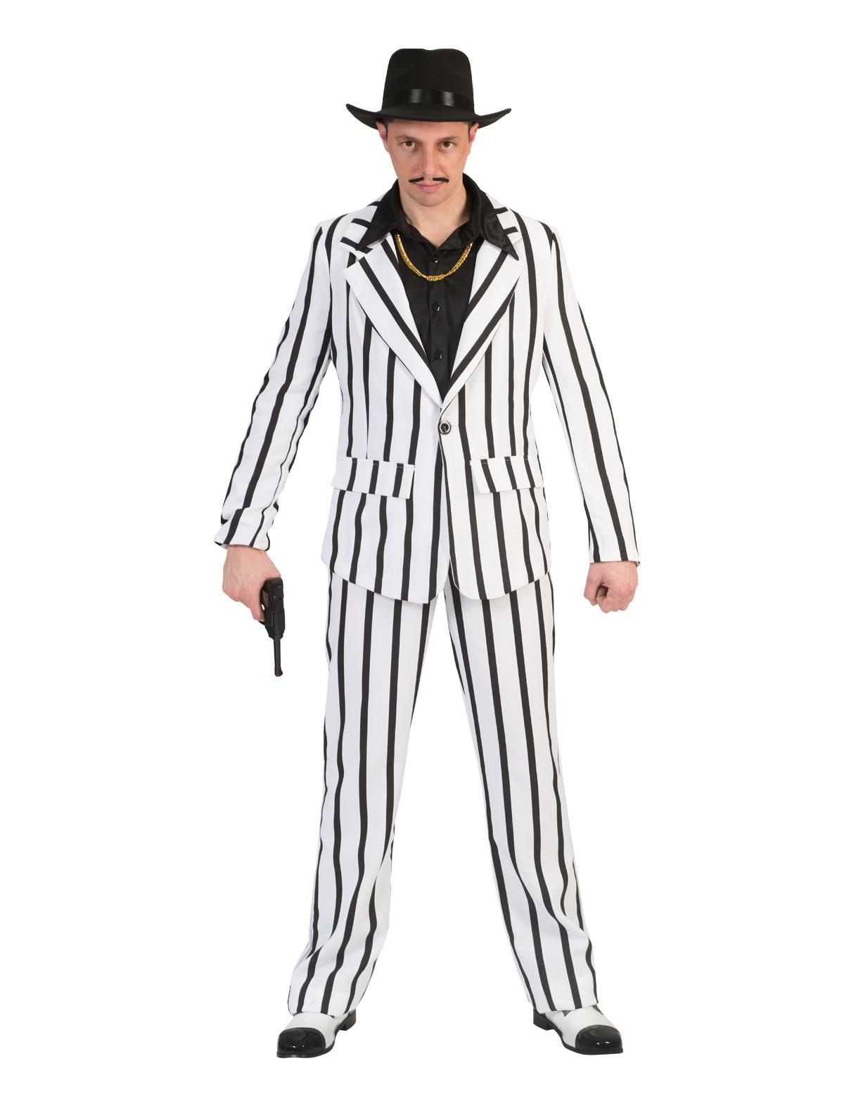 Anzug Black and White