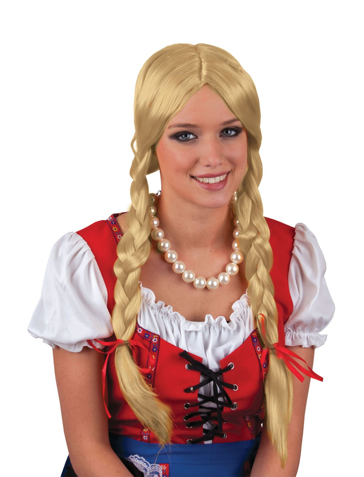 Perücke Gretel blond