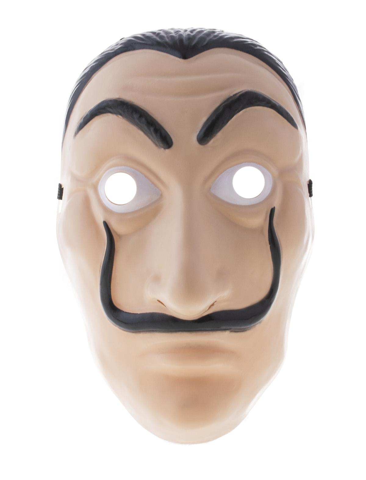 Maske mit Schnurrbart