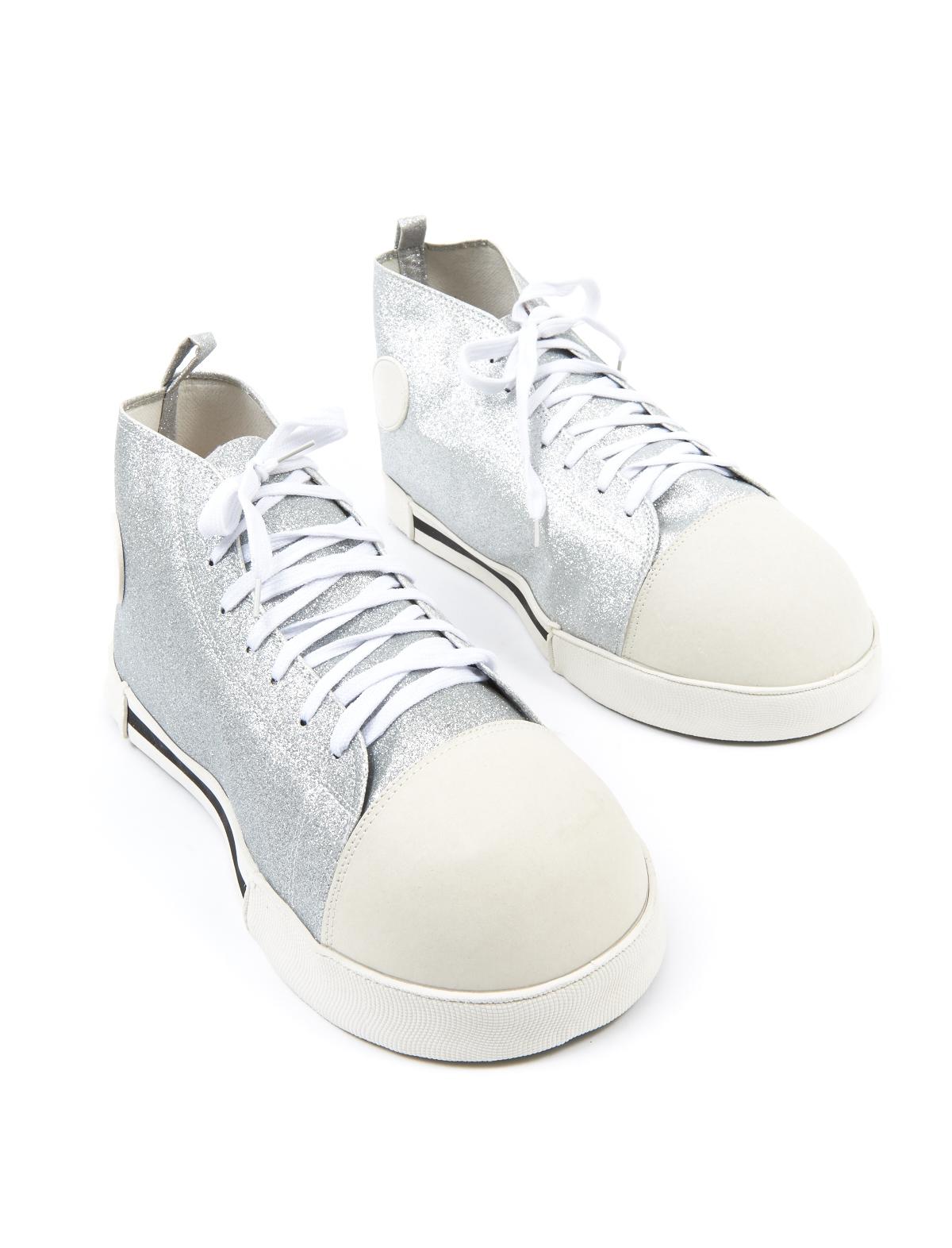Schuhe Fips silber