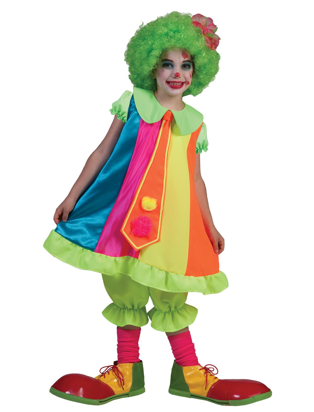 Clown Mädchen Happy
