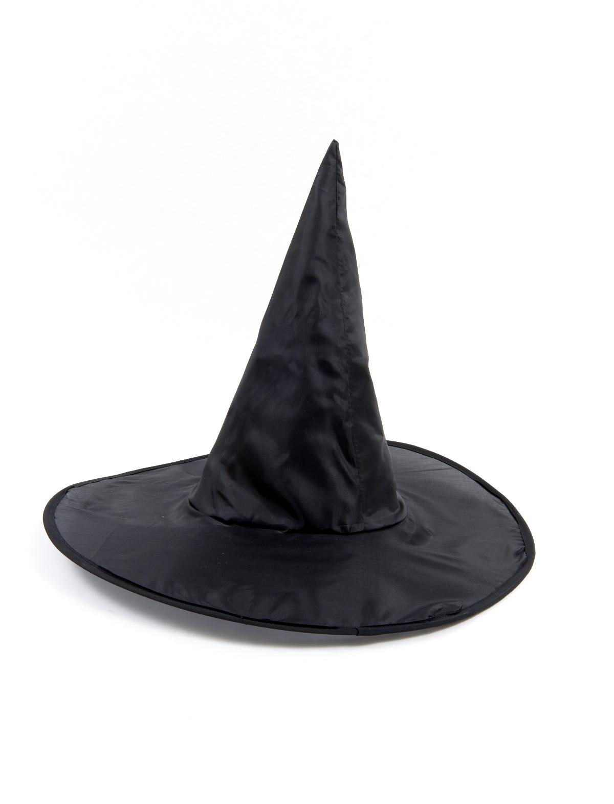 Hexenhut Satin schwarz Kinder