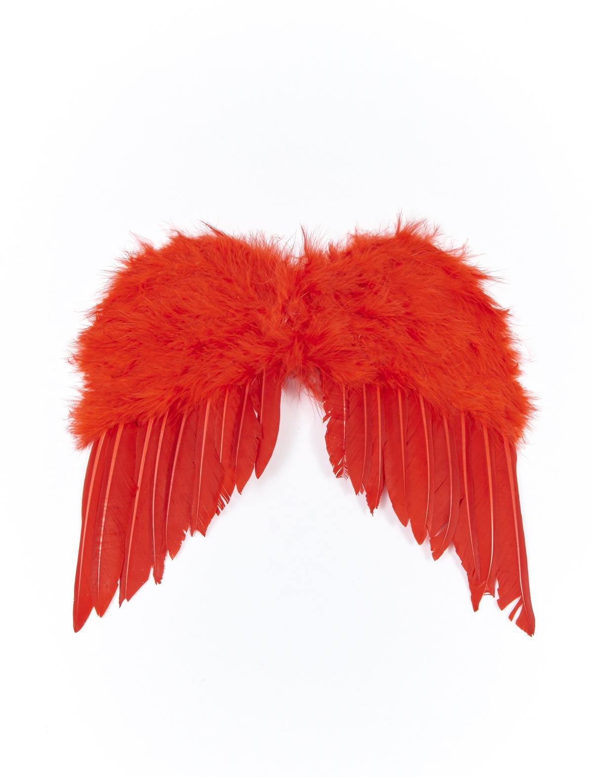 Federflügel rot ca. 30x40cm