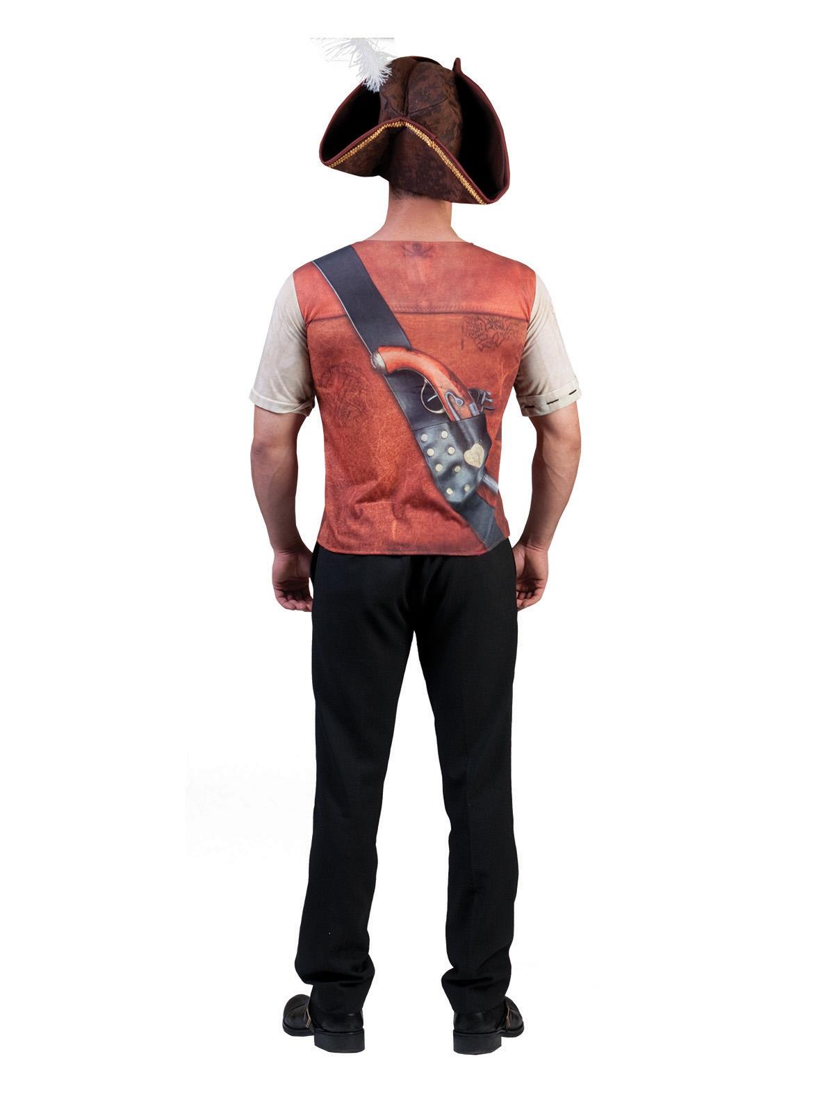 3D-Shirt Pirat