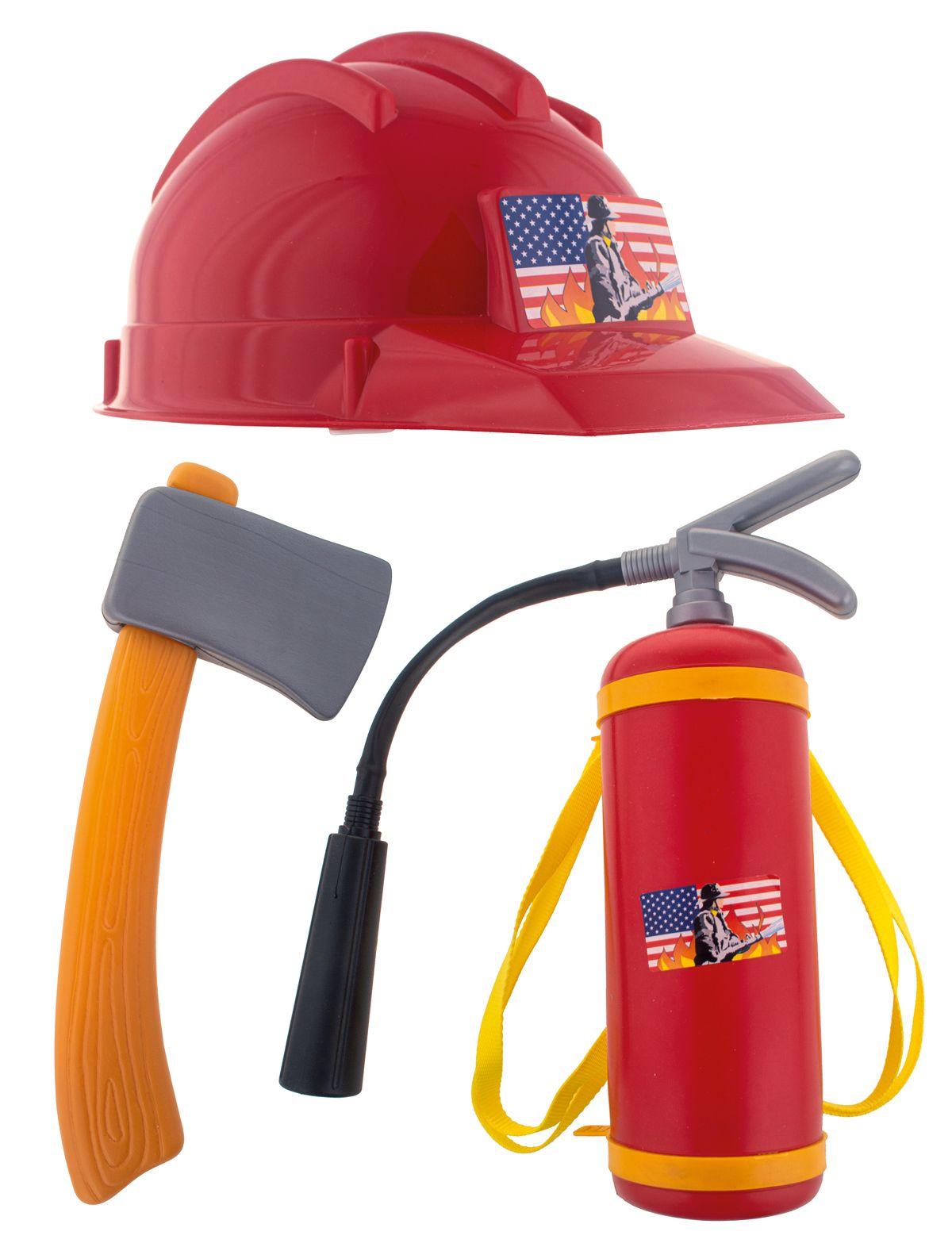 Feuerwehr-Set 3-tlg.