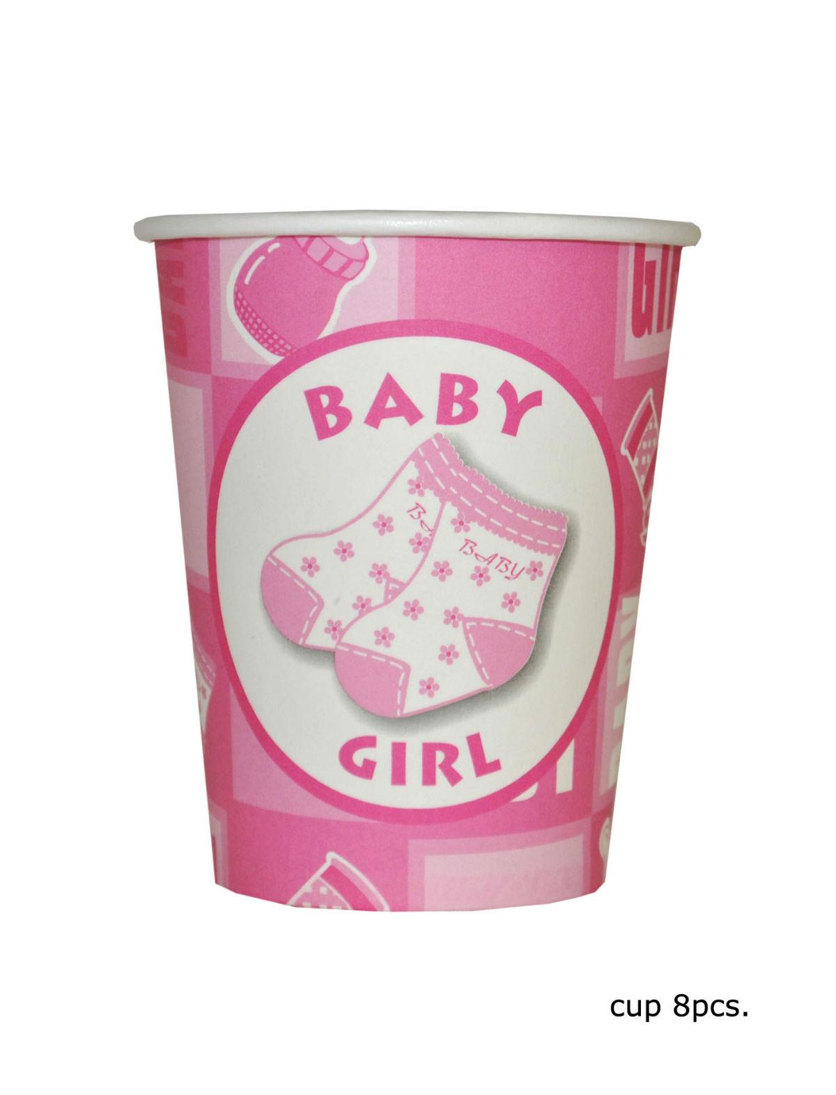 Becher Baby Girl 8er