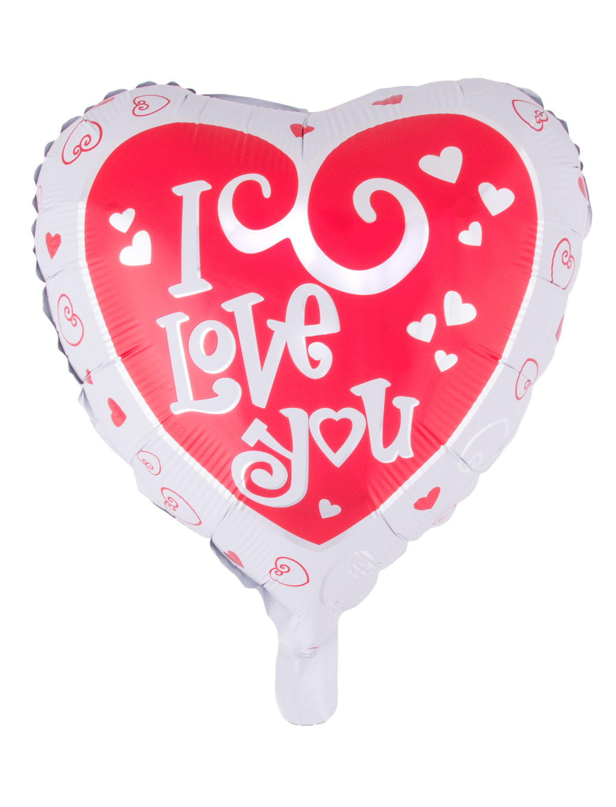 Folienballon Herz 2-seitig I Love You