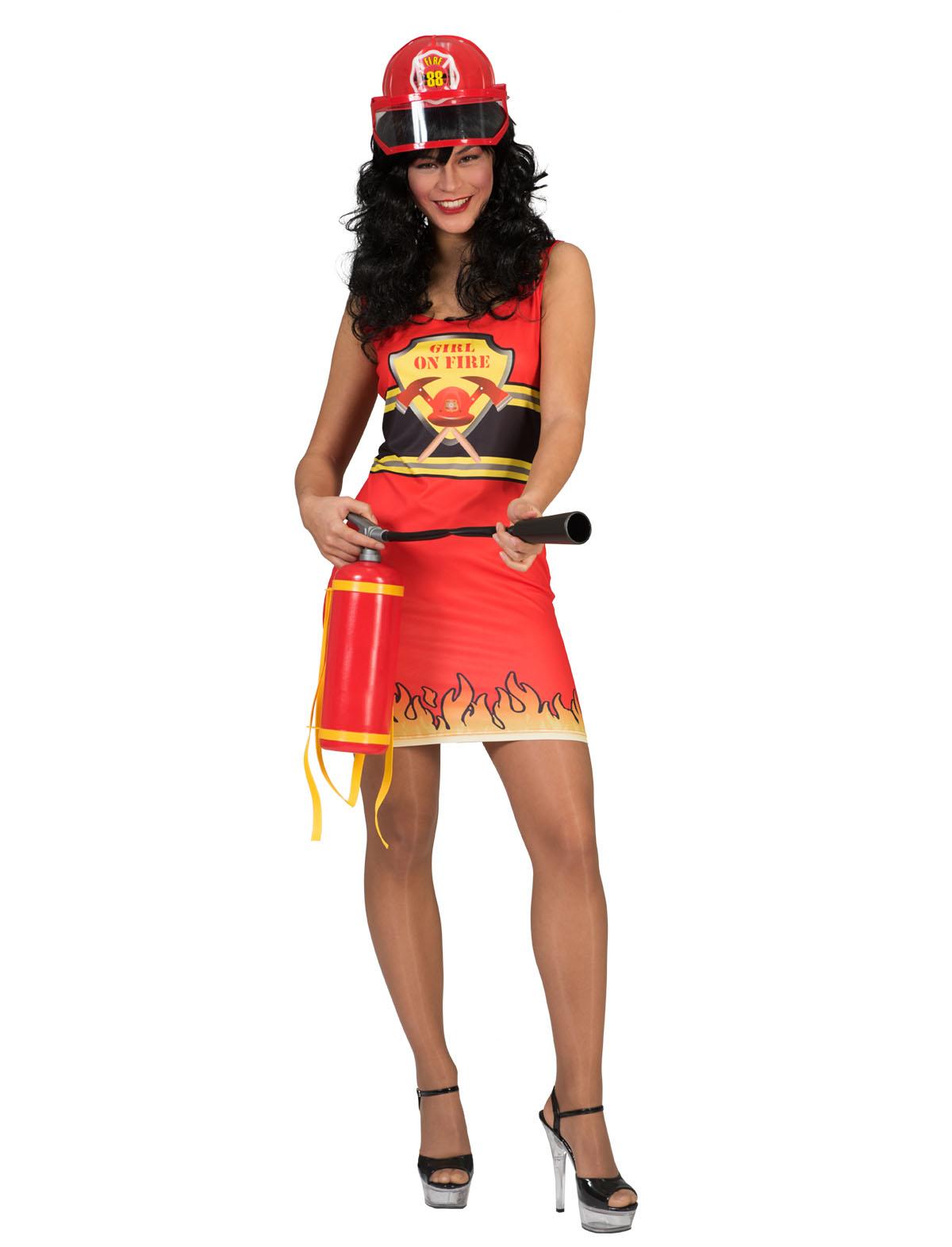 Kleid Feuerwehr