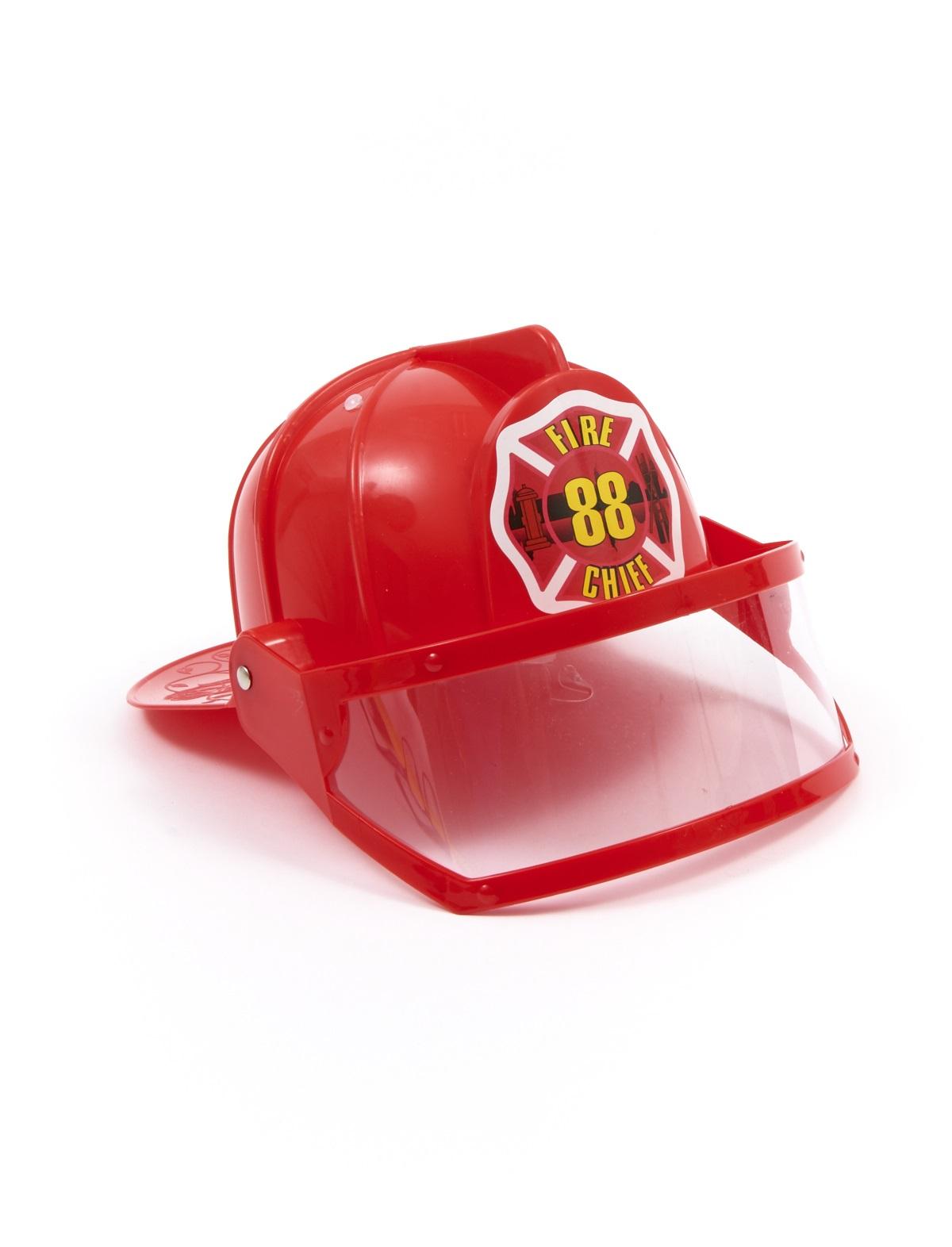 Feuerwehrhelm mit Sichtschutz