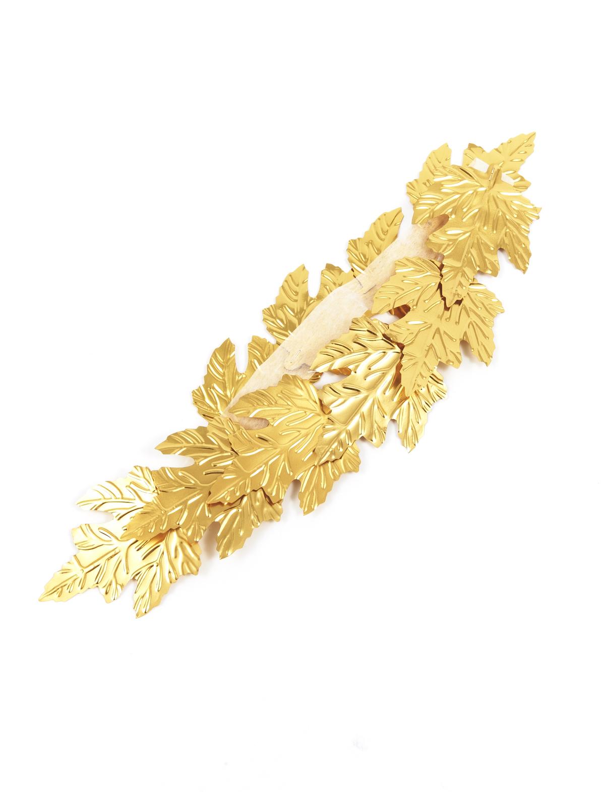 Blätterkranz gold
