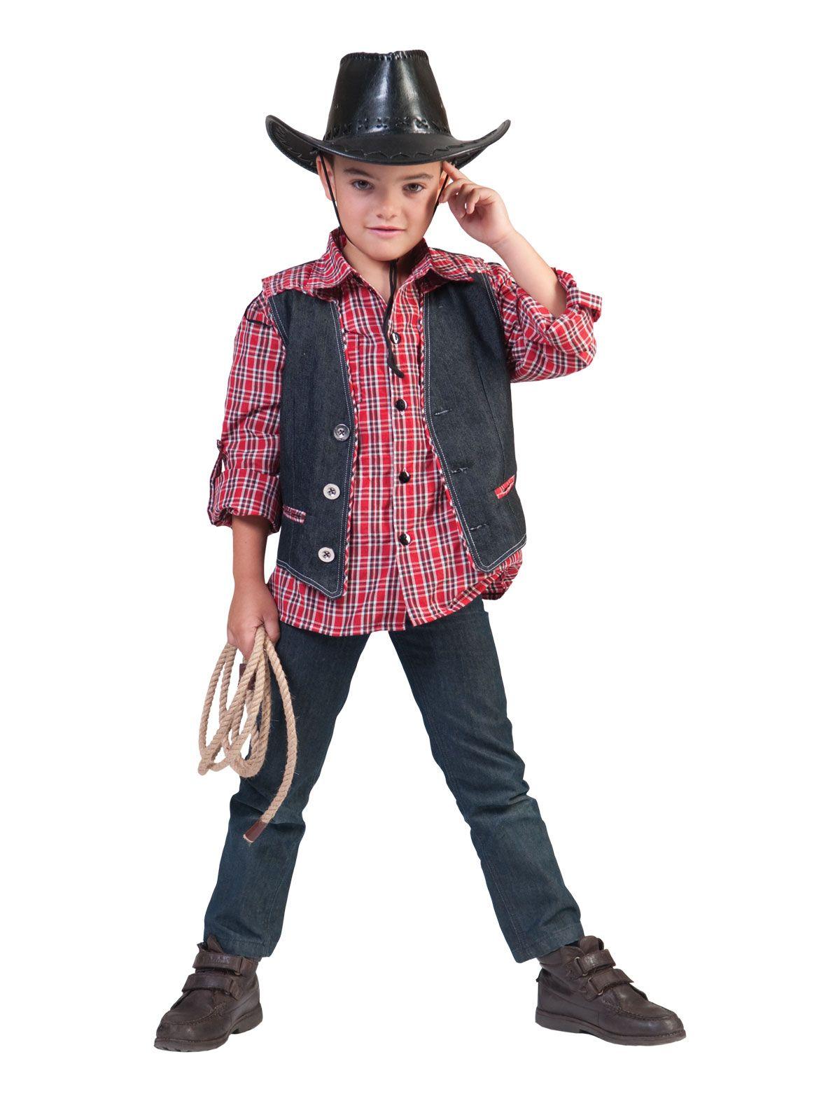 Cowboyweste Denim Ranger Kind