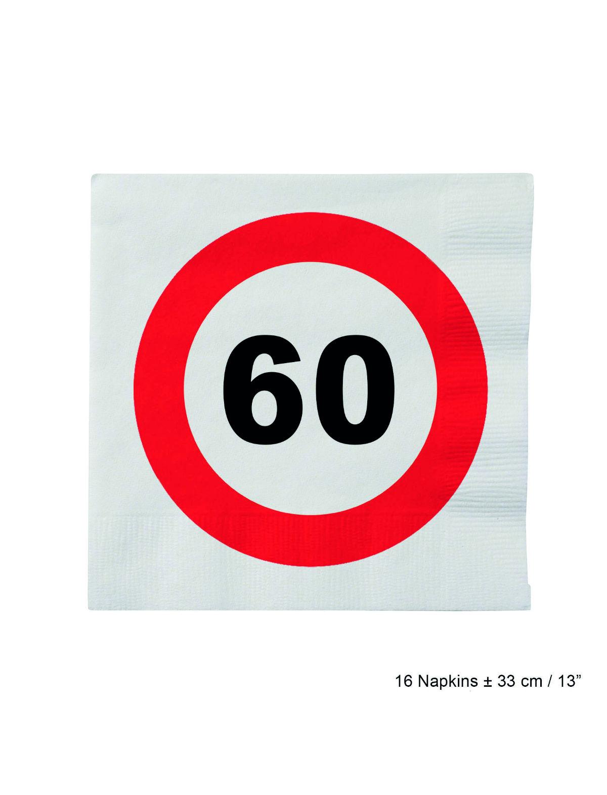 Servietten Geburtstag 60 Jahre